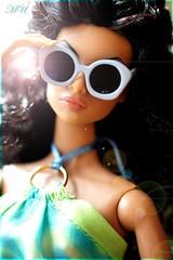 Back To Black (Michaela Unbehau Photography) Tags: blue jason black fashion shopping hair deutschland photography back doll body curls curly natalia wu fatale royalty summersun nuface