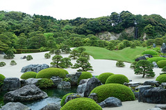 The most beautiful garden (2) (peaceful-jp-scenery) Tags: green museum sony  amount adachi carlzeiss   japanesestylegarden   sal1680z variosonnartdt1680mmf3545za slta37 37