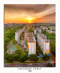 Ground Zero (Ashley Teo (PilotPotato)) Tags: sunset sky urban panorama beautiful architecture buildings landscape lights golden evening singapore long exposure glow cityscape slow dusk magic dramatic wideangle scene hour shutter epic blending