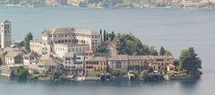 Orta Panorama (cheesimonki) Tags: sunset italy panorama lake como beautiful island town italian wide maggiore isola orta ortasangiulio