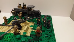 Overview ([Master Bricker]) Tags: truck war lego german ww2 soldiers artillery russian