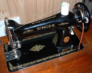 Singer 66 Treadle Sewing Machine