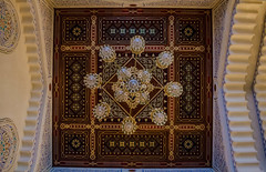 Inside Al-Saleh Mosque-   (Amani Alhjaji) Tags: architecture night photography spring nikon worship islam prayer pray mosque inside yemen muslims sanaa foreigners islamic  yemeni                      alsaleh       nikond5100   5100