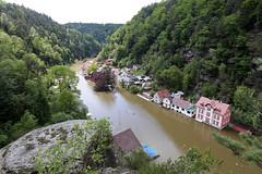 povodně severní Čechy Hřensko (Tomáš Krist) Tags: flooding europe republic czech prague central floods hřensko 2013 čr èr høensko