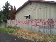 EAST BLOCK- WASTELAND NORTENOS 14 (northwestgangs) Tags: graffiti eastside gangs yakima wasteland nortenos laraza