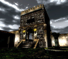Castello dei Wynch (CrossroadsGdR) Tags: castle 3d secondlife rpg castello gdr pyke