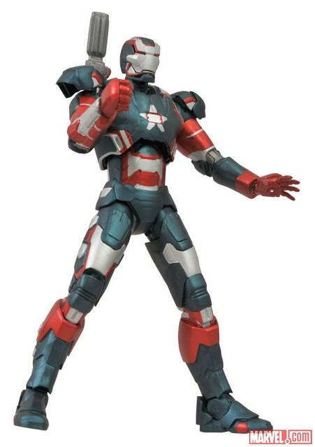 Marvel Select – 鋼鐵人3 – 戰損版馬克42 vs. 鋼鐵愛國者 迪士尼商店限定 強勢登場