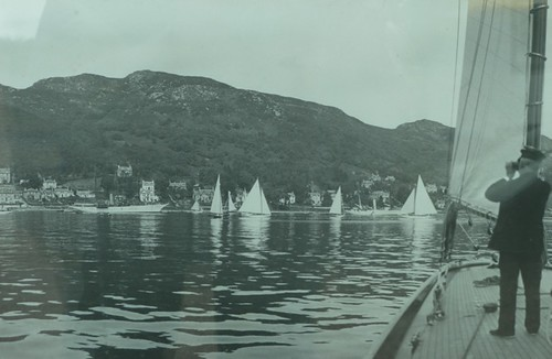 from 1912 fife regatta photo
