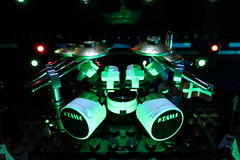 Tama Drum Kit (pricey73) Tags: music drums lego band heavymetal marshall metallica tama instruments cymbals drumkit zildjian amplifiers legorena