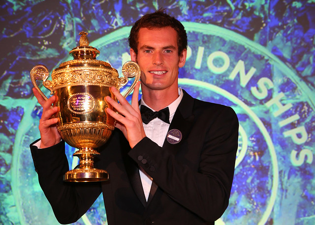 Celebs At Wimbledon