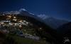 Namche Bazaar (Frank Kehren) Tags: nepal mountain night trekking canon hiking himalaya f11 thamserku 1635 namchebazaar kangtega dudhkoshi ef1635mmf28liiusm canonef1635mmf28lii canoneos5dmarkii kusumkangguru sagarmāthāzone