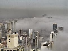 anthony marengo Fog Rolling Off of Lake Michigan II (anthonymarengo) Tags: chicago fog day cloudy lakeshoredrive