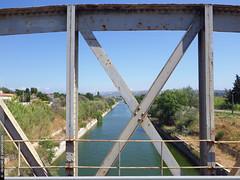 le pont des Florides (Dominique Lenoir) Tags: bridge france puente canal photo ponte pont bro brug provence brcke marignane southfrance bouchesdurhne silta 13700 dominiquelenoir