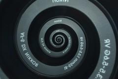 Nikon Lens with a Droste Effect (Gopostal1) Tags: mirror nikon swirl droste nikor