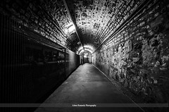 Tunnel To The Courthouse (Adam Kennedy Photography) Tags: road old ireland summer holiday nikon sigma august belfast historic prison 1020mm northern gaol crumlin 2013 d7000