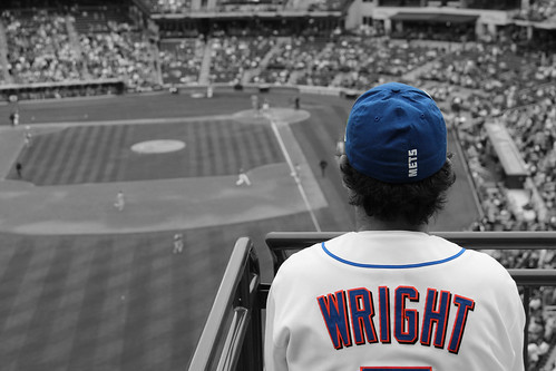 Wright way of watching the game. by kpang21, on Flickr
