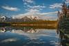 Jewel of the Rockies (Jackpicks) Tags: lake canada reflection water woods alberta banffnationalpark canadianrockies herbertlake mygearandme mygearandmepremium mygearandmebronze mygearandmesilver