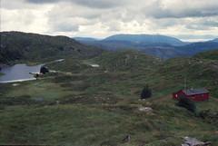 2 Bergen (M. SCHULZ) Tags: exa 1b canon 9000f kodak farbwelt 400 analog norwegen 35mm ulriken bergen film norway norge ihagee iso analogue