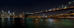 Brooklyn Bridge (yadrad) Tags: newyork skyline brooklyn brooklynbridge riverhudson