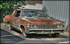 Rusty Chevy Impala (Photos By Vic) Tags: old classic chevrolet car rust automobile rusty chevy vehicle impala