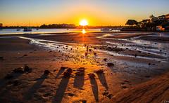 Shadow at Sunset (**James Lee**) Tags: sunset shadow seascape reflection nature landscape bay sydney australia