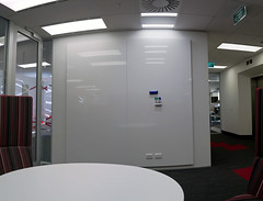 Opus_Panorama_01 (Aaron & Radhika) Tags: new red panorama architecture photoshop work design office nikon raw angle post furniture interior space centre aaron wide creative whiteboard case architectural study zealand adobe wellington practice suite dslr capture majestic processed shelves markers function opus magnetic laminate joinery cs5 openshaw writeable d3100