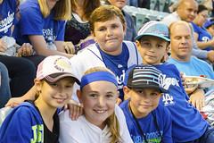 LAD_0004b (Kevin MG) Tags: ca girls usa boys losangeles baseball little fans adolescent dodgers preteen homegame