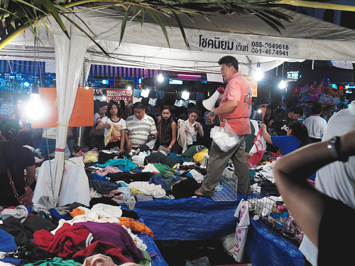 Clothes Stall in Pattaya Music Festival