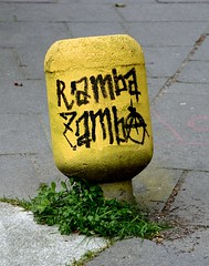 Streetart Miscellaneous 1812 (cmdpirx) Tags: street urban color colour art public cutout painting fun graffiti chalk nikon paint artist 7100 quote d space raum kunst strasse tag hamburg humor can brush spray crew marker hh aerosol tagging farbe spruch kreide ffentlicher kuenstler