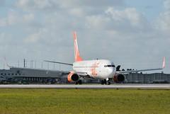 G3 B738 MIA (Luis Fernando Linares) Tags: aviation mia boeing gol winglets planespotting 737800 avgeek prguk