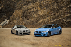 BMW M3 F80 and E92. (Charlie Davis Photography) Tags:
