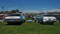 OLD TIME SHERIFF CARS (richie 59) Tags: people usa ny newyork cars chevrolet nova grass car america sedan walking outside fairgrounds us spring gm unitedstates weekend crowd saturday vehicles trucks newyorkstate autos oldcar rhinebeck automobiles carshow collectibles 2tone taillights nys bluecar backend nystate dutchesscounty generalmotors hudsonvalley twotone chevynova americancar 2015 policecars motorvehicles rhinebeckny venders oldchevy uscar midhudsonvalley chevybelair dutchesscountyny midhudson gmcar sheriffcars americansedan 1970scar 2010s oldsedan 1973chevy americanpolicecar oldpolicecars 1977chevy richie59 1973chevybelair chevypolicecar rhinebeckcarshow 1977nova townofrhinebeck townofrhinebeckny may2015 1973belair may22015 1977chevynova