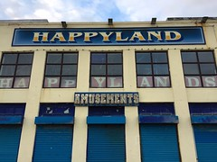 Happyland? (Marc Sayce) Tags: dorset beach bournemouth coast seaside promenade happyland amusements