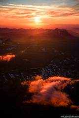 (kayters) Tags: red clouds kaytedolmatchphotography kathleendolmatch aerial northcascades northcascadesnationalpark washington nature sunset august landscape birdseyeview perspective canon depth land