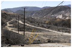 Cajon Pass_0195 (Thomas Willard) Tags: pass california cajon blue burn area landscape fire cut