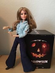 Laurie Strode Doll 1 (ory.lopez) Tags: halloween laurie strode lauriestrode lauriedoll lauriestrodedoll halloween1978 barbie customdoll jamie lee curtis jamieleecurtis