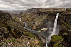 Haifoss (Anne.Berger) Tags: haifoss iceland island wasserfall waterfall canyon
