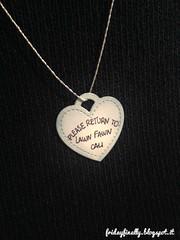 Please return to Lawn Fawn Cali!! LF charm (fridayfinally) Tags: lawnfawndies lawnfawn tiffanyco tinytagsdie twine silver distressink handwriting cute pretty love lovely heart