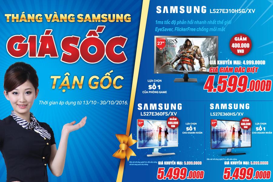 Tháng vàng Samsung - Giá sốc tận gốc