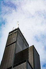 Sears or Willis (ingbalfaro) Tags: usa building chicago street sears cta tower skyscrapper metro downtown hancock