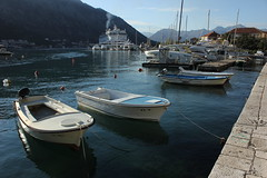 Luka Kotor, Crna Gora (Montenegro) (nikolaylozanov8006) Tags: vehicle boat waterfront water outdoor kotor crna gora montenegro boka kotorska luka ship adriatic jadran bay