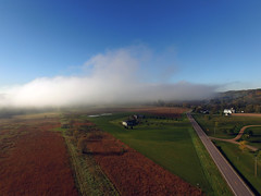 Droning in the fog (ABDKHemings) Tags: drone dji fog