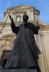 Pope Saint John Paul II (Lawrence OP) Tags: saints citadella gozo malta cathedral statue stjohnpaulii pope