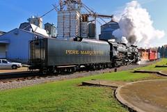 Ithaca Steam (BravoDelta1999) Tags: peremarquette pm greatlakescentral glc railroad annarbor aa railway 482 berkshiretype 1225 steamrailroadinginstitute michigan ithaca