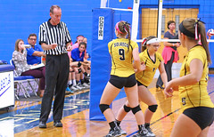IMG_9970 (SJH Foto) Tags: girls volleyball high school lampeterstrasburg lampeter strasburg solanco team tween teen east teenager varsity substitution sub rotation