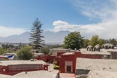 The view (fabioresti) Tags: panorama view monasterio santacatalina arequipa convento per 2016 canoneos80d sigma1770 ghiacciaio glacier