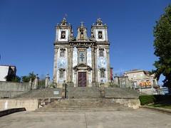 Church of Saint Ildefonso (Linda DV) Tags: lindadevolder panasonic geotagged travel portugal porto europe 2016 citytrip oporto ribbet azulejos tiles ildefonso