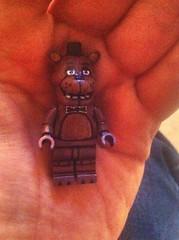 Freddy Fazbear V.2 (TheEleH) Tags: fivenightsatfreddys fazbear freddy custom lego