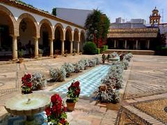 El patio de la Columnas (Iris.photo@) Tags: espagne andalousie cordoue palais marquis viana patio colonnes