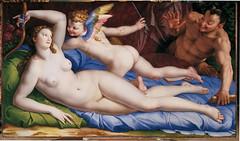 Venus, Cupid and Satyr (lluisribesmateu1969) Tags: 16thcentury bronzino mythology galleriecolonna rome